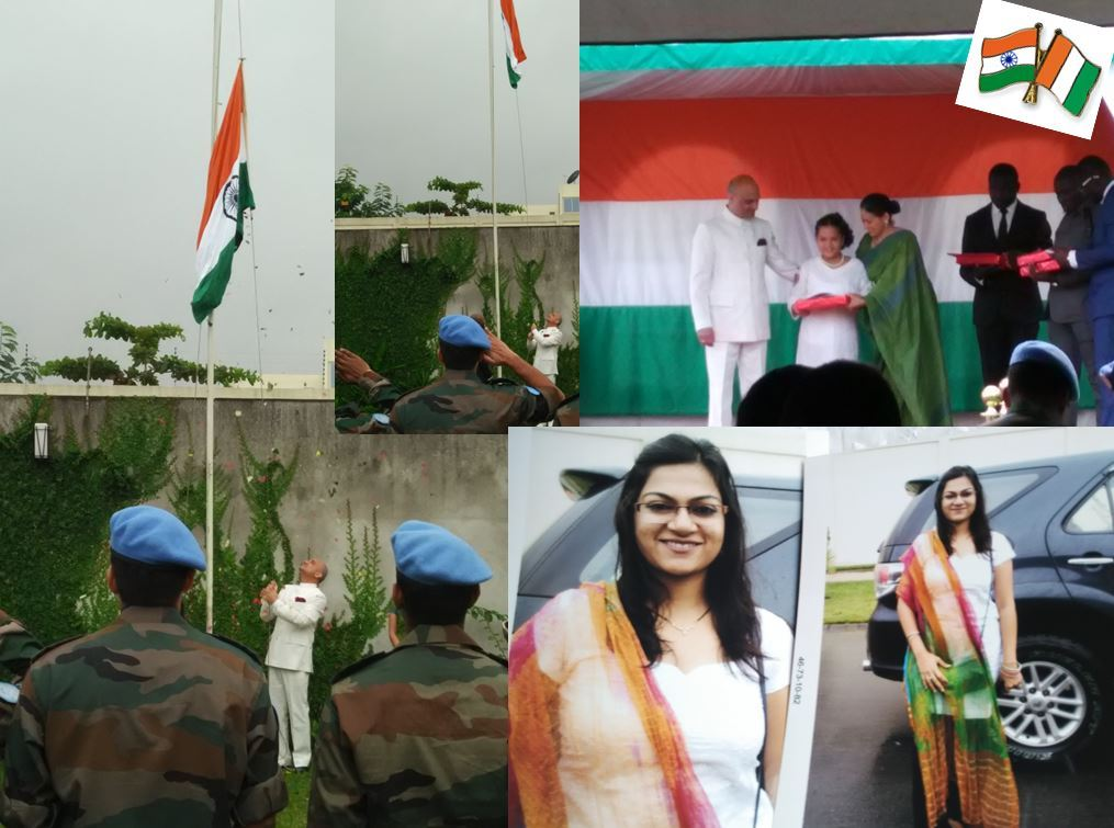 Indian Independence Day in Ivory Coast