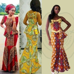 Traditional African Skirt and Blouse