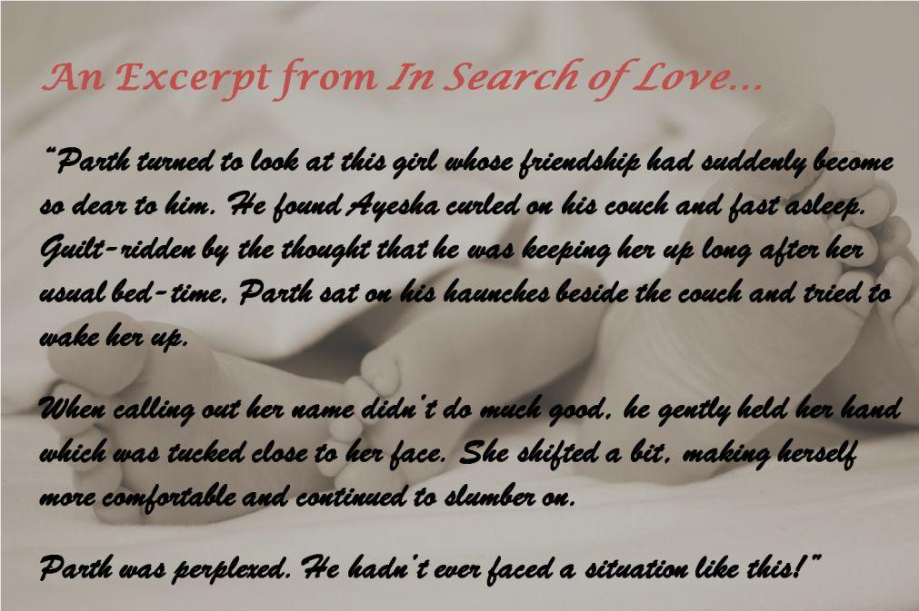 An Excerpt from In Search of Love