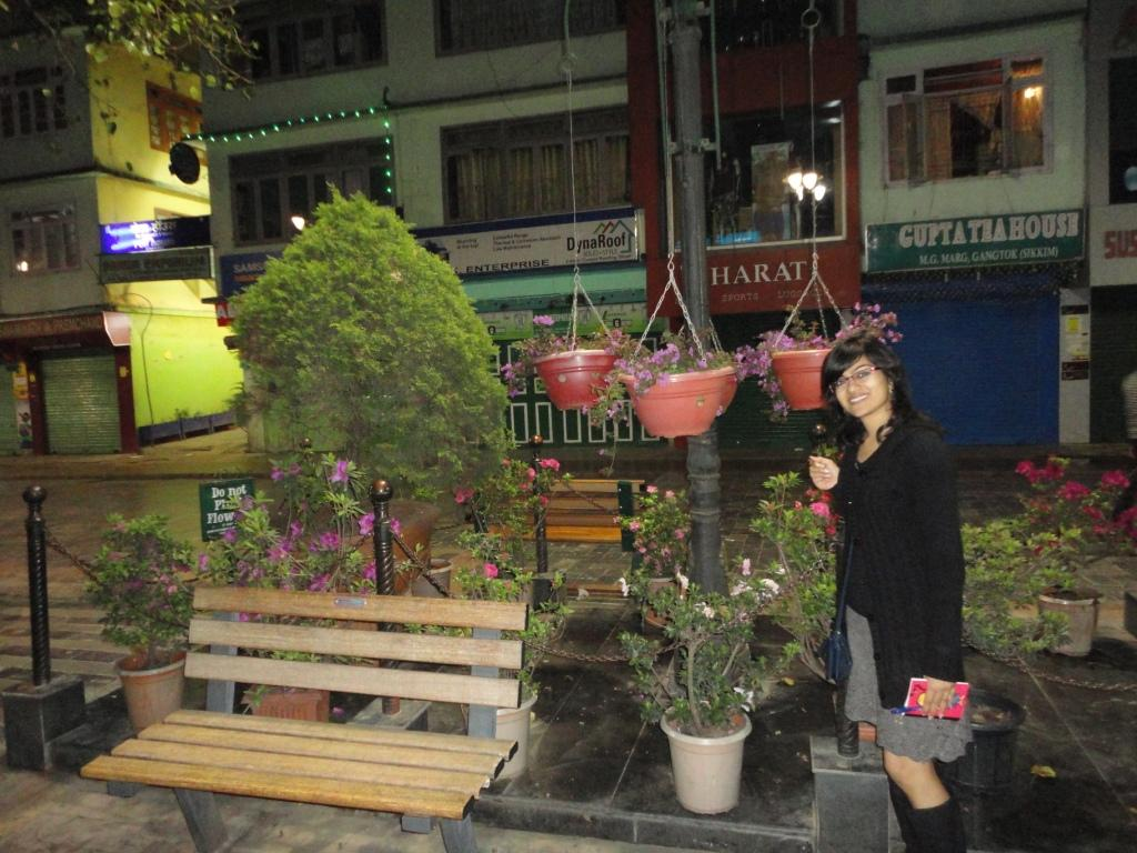At MG Road Gangtok