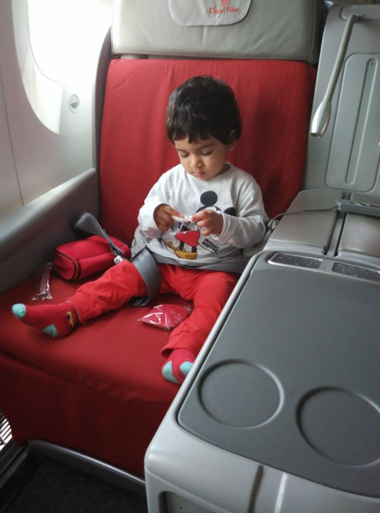 When a One Year Old Travels Business Class
