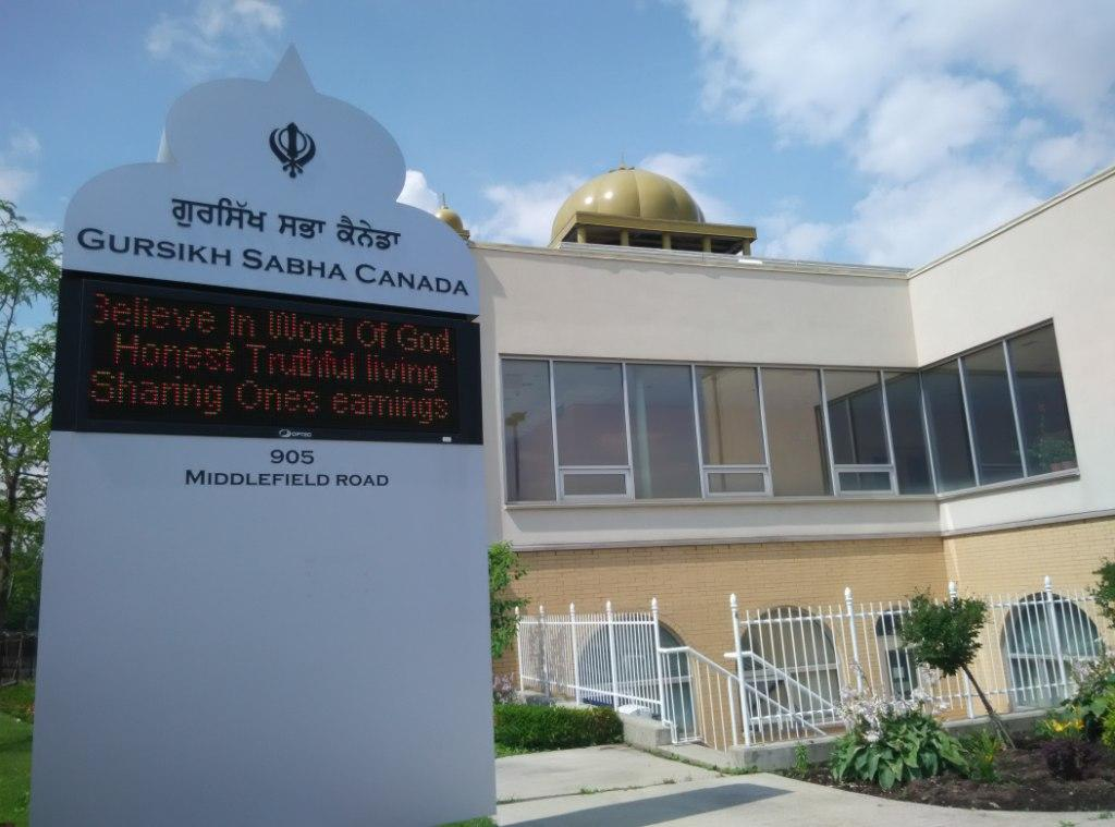 Gurudwaras Abound in Canada