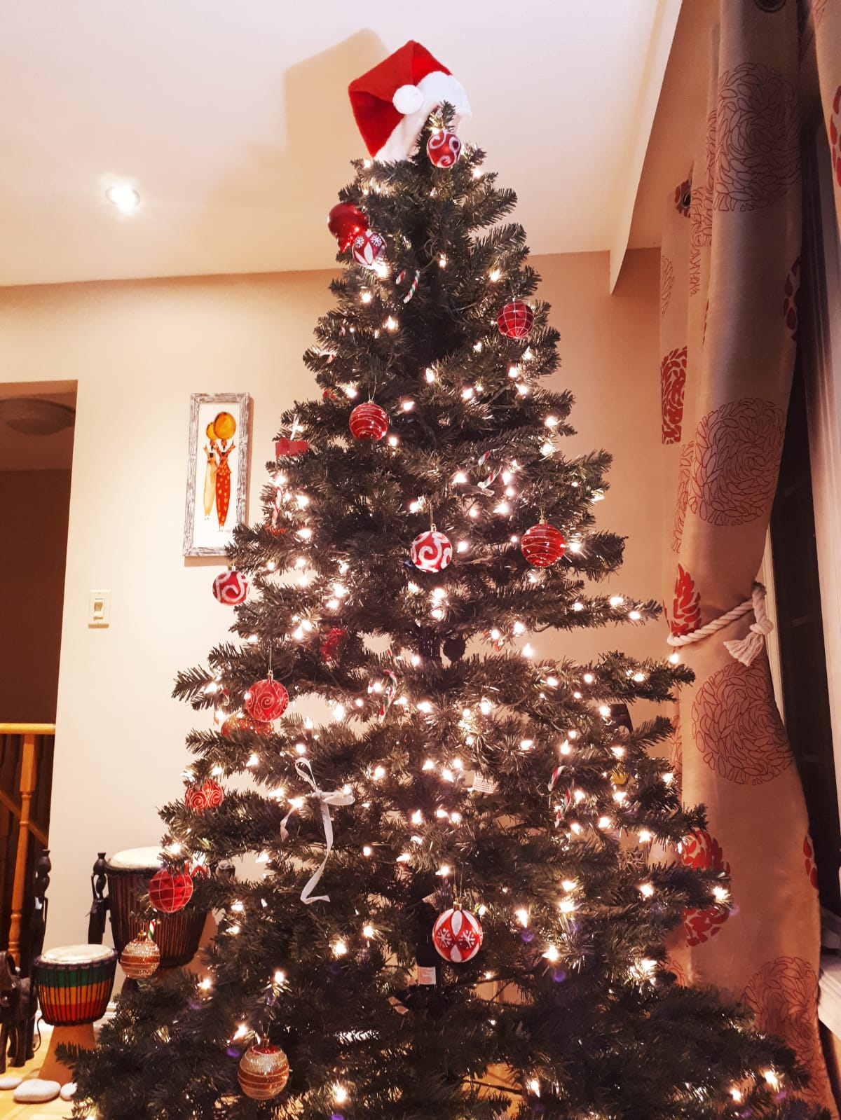 Our First Ever Christmas Tree