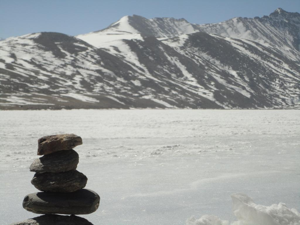 We Stack Stones According to Local Beliefs and Ask a Wish