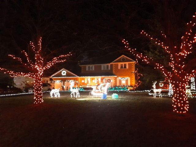Festival of Lights at Old Scugog Road Bowmanville